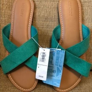 NWT Old Navy Women's Slide On Sandals